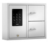 The Creone KeyBox in the Basic series with 2 doors and 16 key hooks (8 hooks in each door).